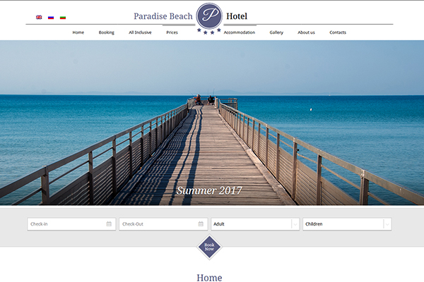 Paradise Beach St Vlas